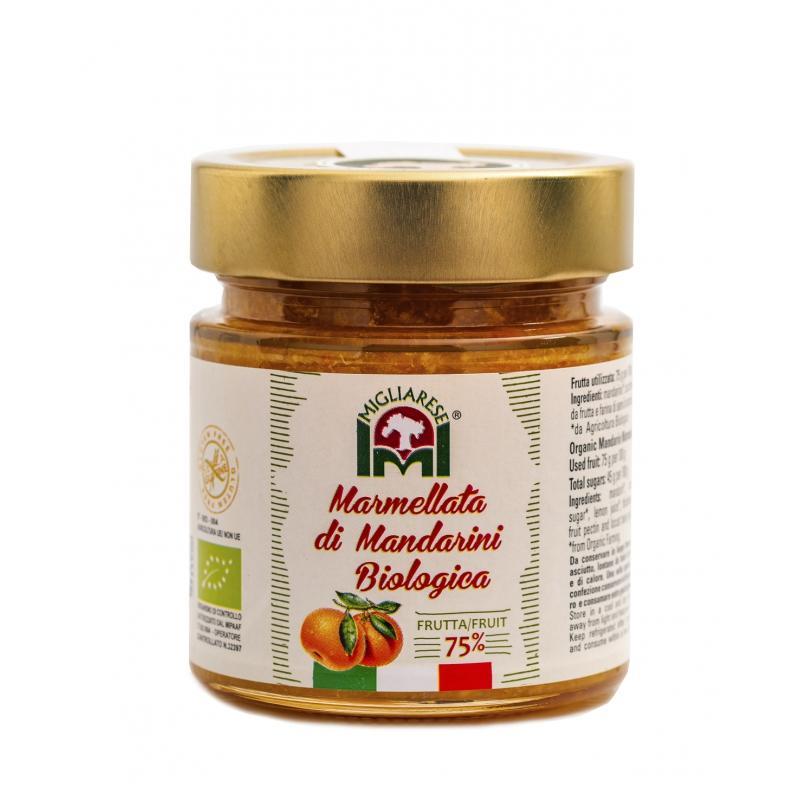 Marmellata di Mandarini Bio, Migliarese, 300 gr