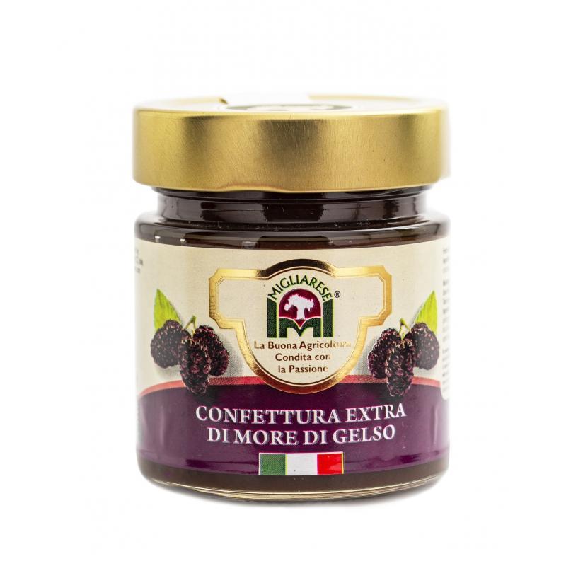 Confettura extra di More di Gelso, Migliarese, 300 gr