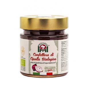 Confettura di Cipolla Rossa di Tropea  IGP Bio, Migliarese, 300gr