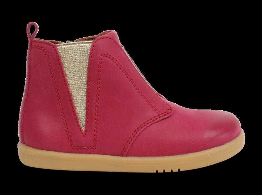 Bobux - I-Walk - Signet - Dark Pink