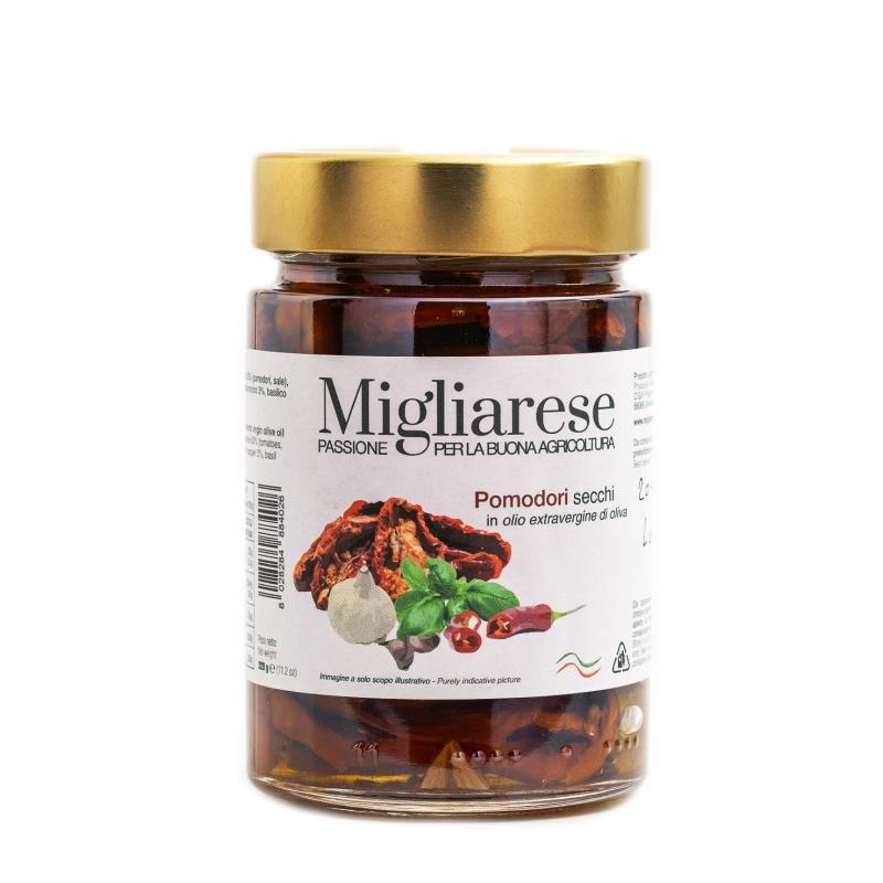 Pomodori secchi in Olio Evo, Migliarese, 320 gr