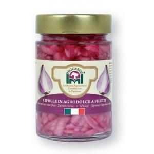 Cipolle a filetti in agrodolce, Migliarese, 340 gr