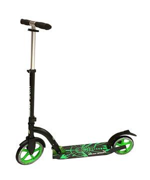 Monopattino scooter con ruota anteriore da 230 mm - Mikado Sport 60325 - Verde
