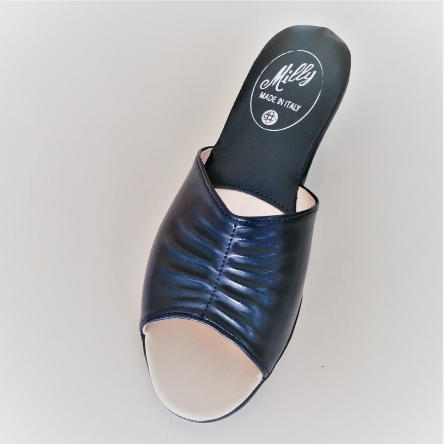 Milly ciabatta da camera 1805 blu