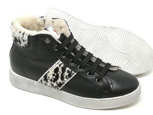 Sneaker Pelle/Cavallino/Montone - TIKO