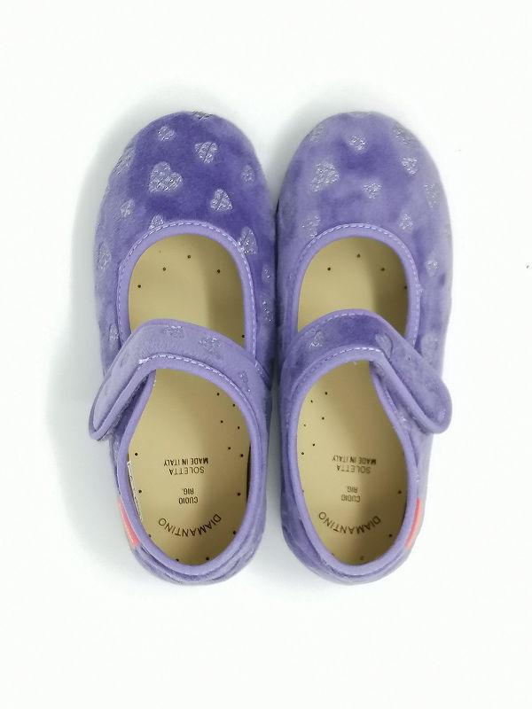 Pantofola Ballerina Terpel Lilla - DIAMANTINO