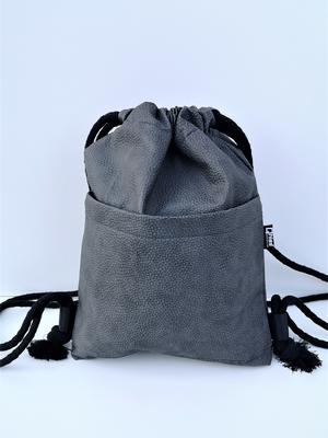 "Drawstring Bag  "" Desert "" grey"