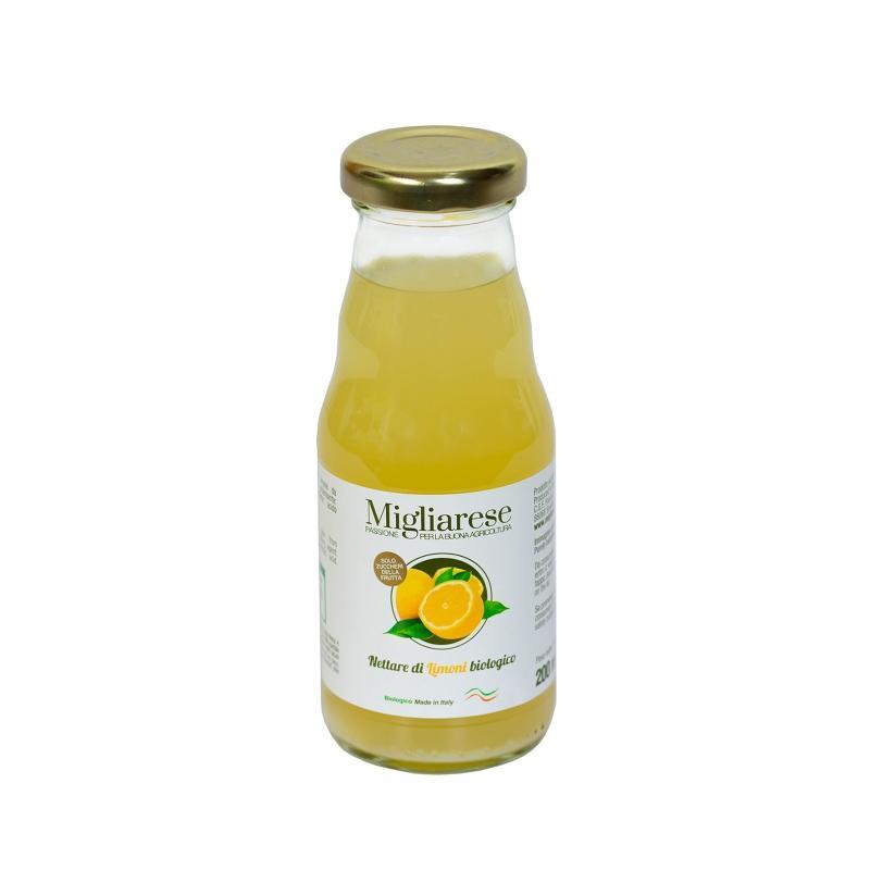Nettare di Limone Bio, Migliarese, 200 ml.