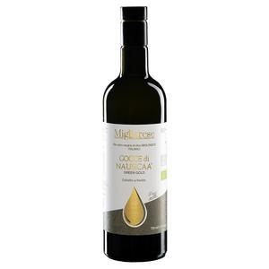 """Olio Extravergine di Oliva Biologico """"Gocce di Nausicaa"""" Green Gold, Migliarese 750 ml"""