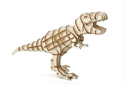 T-Rex 3d Puzzle in legno