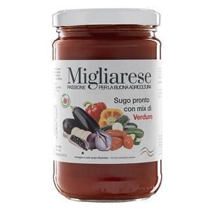 Sugo Pronto con Mix di Verdure, Migliarese,  280 gr