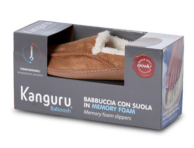 Pantofole Baboosh Kanguru Uomo Taglia S
