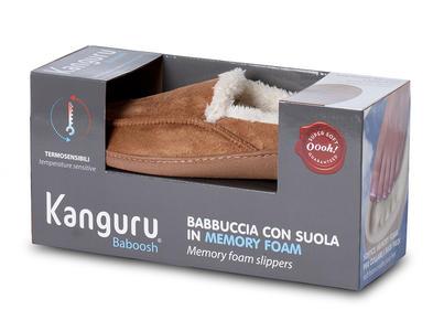 Pantofole Baboosh Kanguru Uomo Taglia L