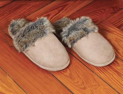 Pantofole Baboosh Fur Kanguru Donna Taglia M