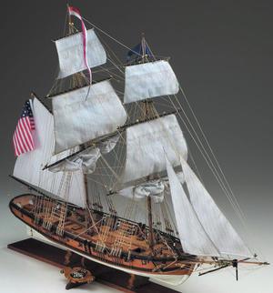 Scatola di Montaggio in Legno Brigantino EAGLE di Corel - Offerta di Mondo Nautica 24