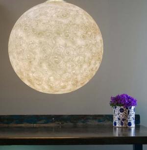 Lampada a Sospensione Luna Liberty 1/2 Collezione Luna di In-es.artdesign, Varie Misure - Offerta di Mondo Luce 24