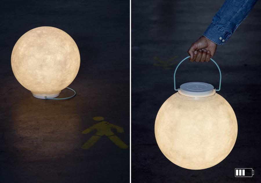 Lampada a Sospensione Luna Take Away Collezione Battery di In-es.artdesign, Varie Finiture - Offerta di Mondo Luce 24
