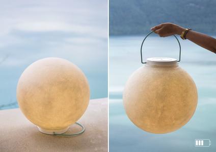 Lampada da Terra Luna Take Away Collezione Battery di In-es.artdesign, Varie Finiture - Offerta di Mondo Luce 24