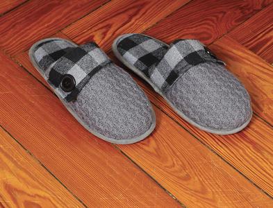 Pantofole Baboosh Plaid Kanguru Unisex Taglia L