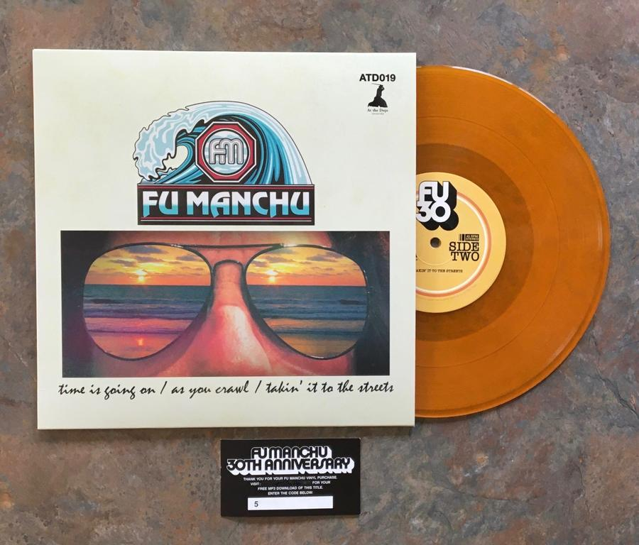 "FU MANCHU -  "" FU30, PT. 1""                                                Lp 10"" (At The Dojo Records)"