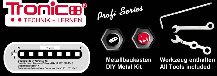 Kit costruzioni in Metallo RC Fendt 939 Vario telecomandato di Tronico