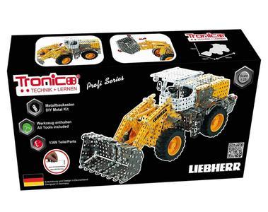 Kit costruzioni in Metallo Ruspa Liebherr a ruota libera 1:25 di Tronico