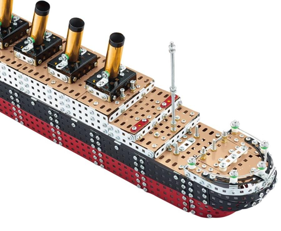 Kit costruzioni in Metallo RMS Titanic di Tronico