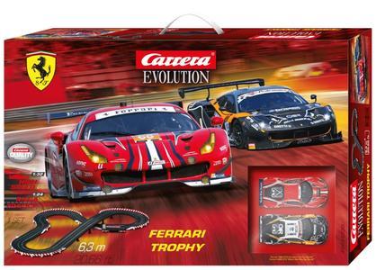 Autopista Elettrica Carrera EVOLUTION Ferrari Trophy