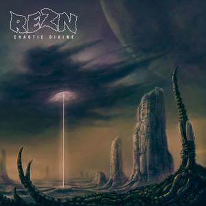 "REZN       ""Chaotic Divine""             2 Lp gatefold on heavyweight gold/black marbled vinyl. Limited edition of 400 copies!"