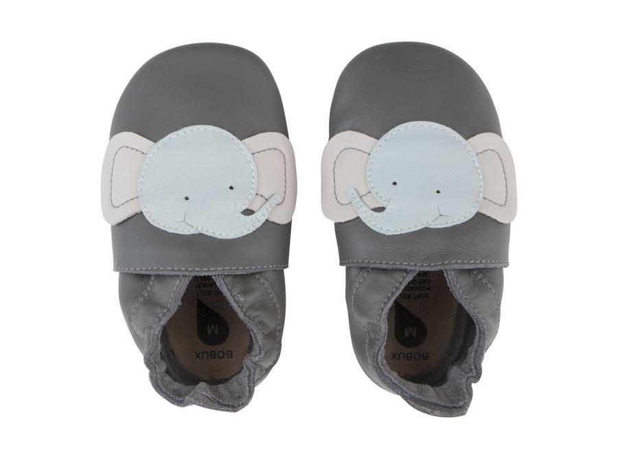 Bobux - Soft Sole  - Elephant - Grey