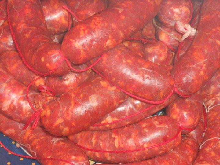 Salsiccia Fresca Affumicata Piccante, Suino Rosa, Sapori d'altri Tempi, 0,500 kg