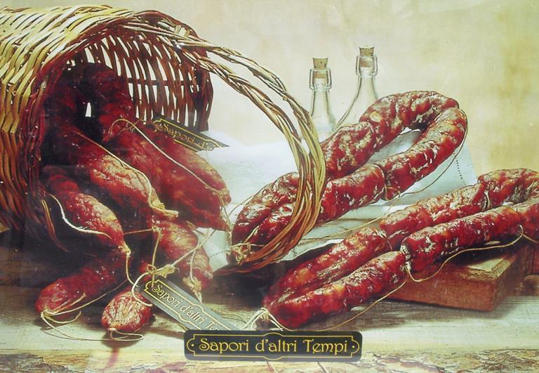 Salsiccia Dolce di Suino Rosa, Sapori d'altri Tempi, 0,300 kg
