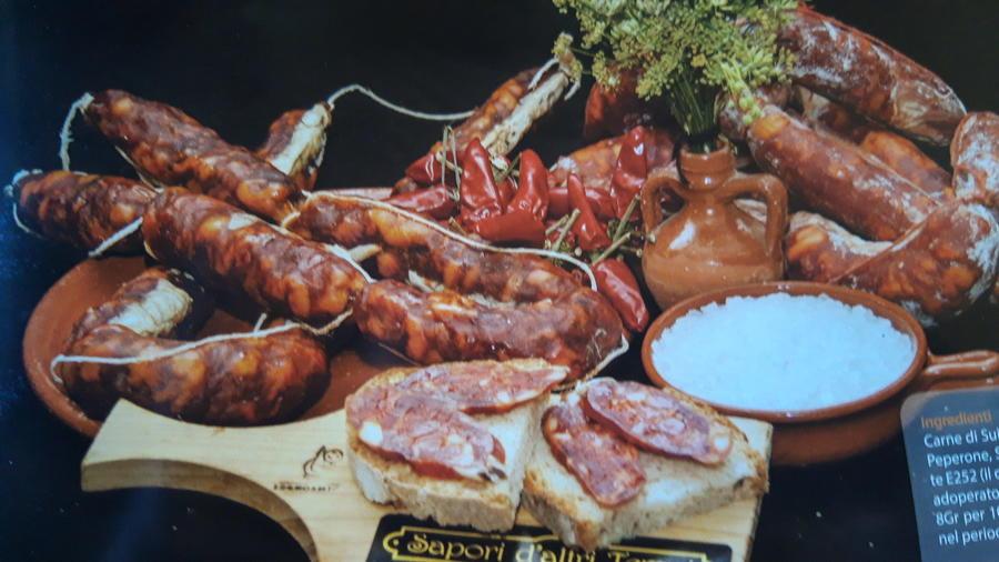 Salsiccia Piccante di Suino Rosa, Sapori d'altri Tempi, 0,300 kg