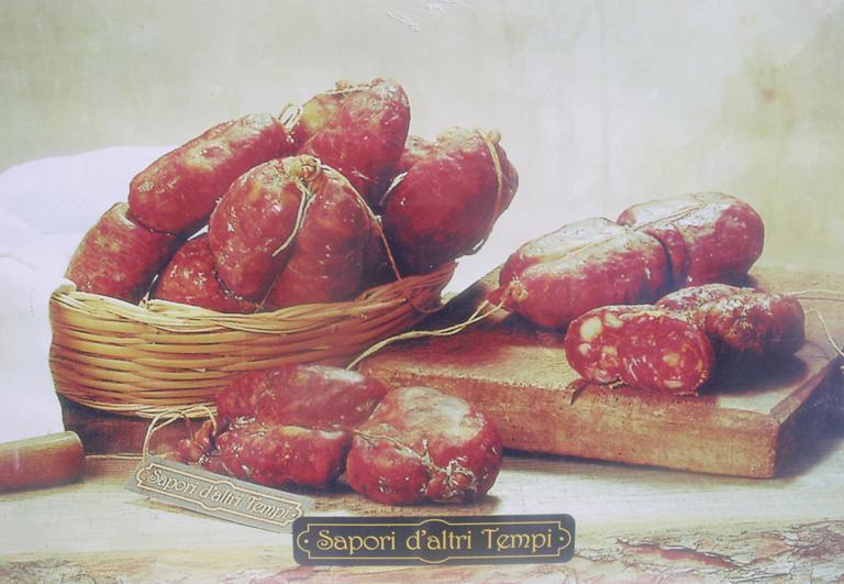 Soppressata Dolce di Suino Rosa, Sapori d'altri Tempi, 0,300 kg