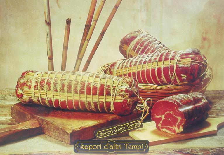 Capicollo Piccante di Suino, Sapori d'altri Tempi, 0,400 kg