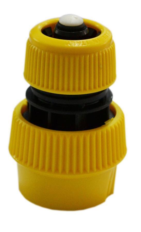Portagomma giallo 1/2''-5/8'' stop sfuso