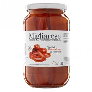 Filetti di Pomodoro al Naturale, Migliarese, 550 gr