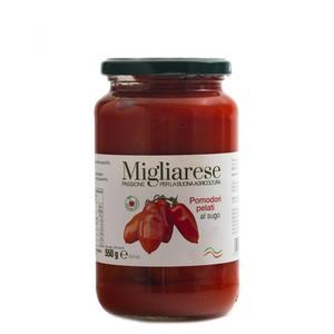 Pomodori Pelati al Sugo, Migliarese, 550 gr.