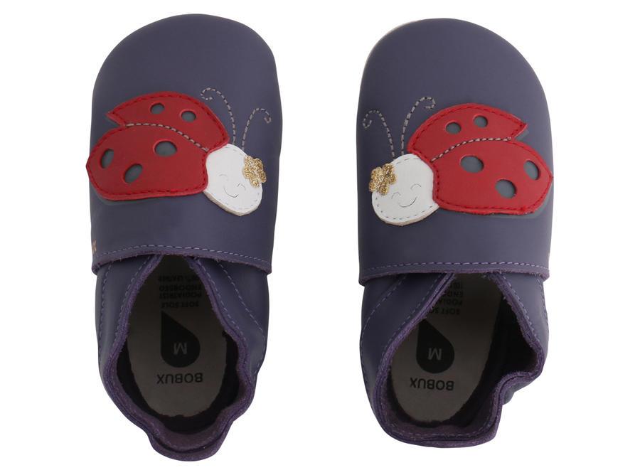 Bobux - Soft Sole  - Ladybird - Purple