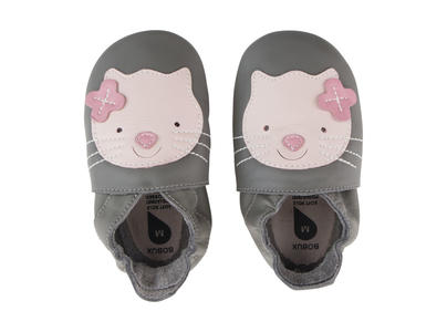 Bobux - Soft Sole  - Kitten - Grey