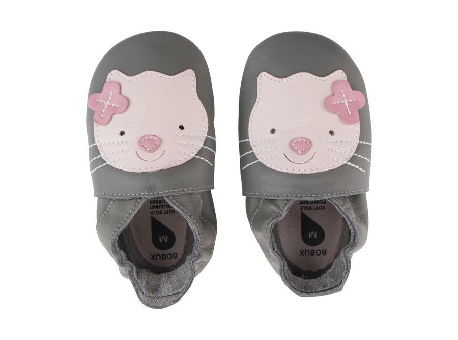 Bobux - Soft Sole  - Kitten - Grey