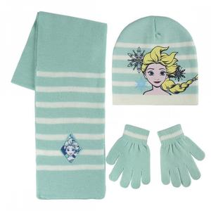 Frozen set 3 pz cappello - sciarpa -guanti