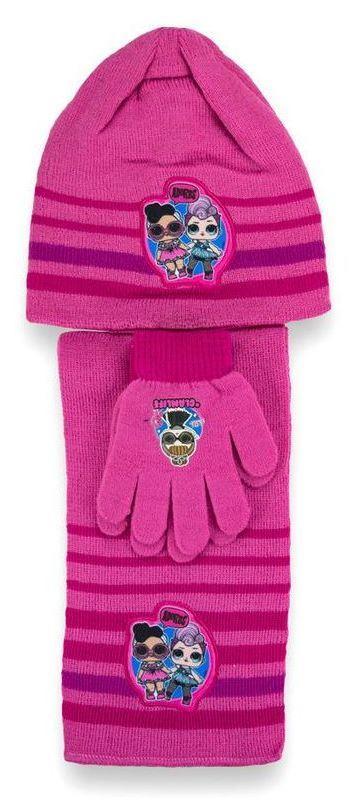 LOL set 3 pz cappello - sciarpa -guanti