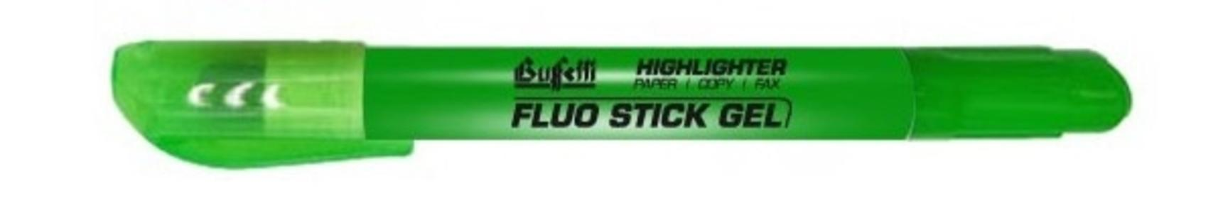 Evidenziatore Fluo Stick Gel - colore verde