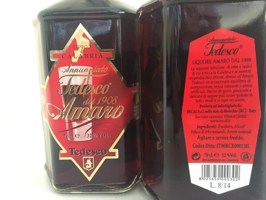 Amaro Tedesco, Amaro antico dal 1908, 70cl