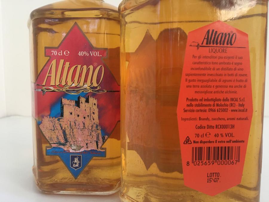 Altano, Liquori Tedesco, 70cl