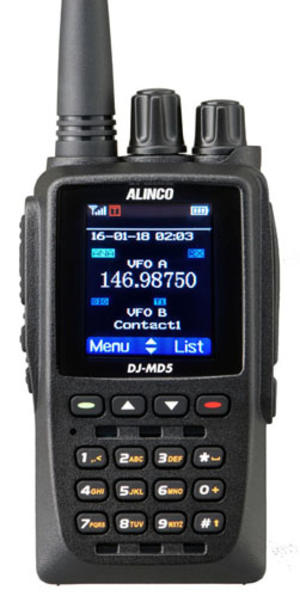 ALINCO DJ-MD5GP VHF/UHF