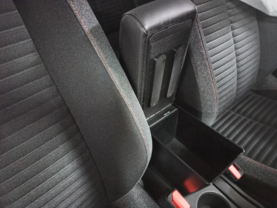 Adjustable armrest with storage for Peugeot 2008 (from 2020)
