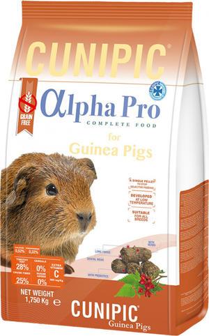 Cunipic Alpha Pro Guinea Pig - 1,750 kg.