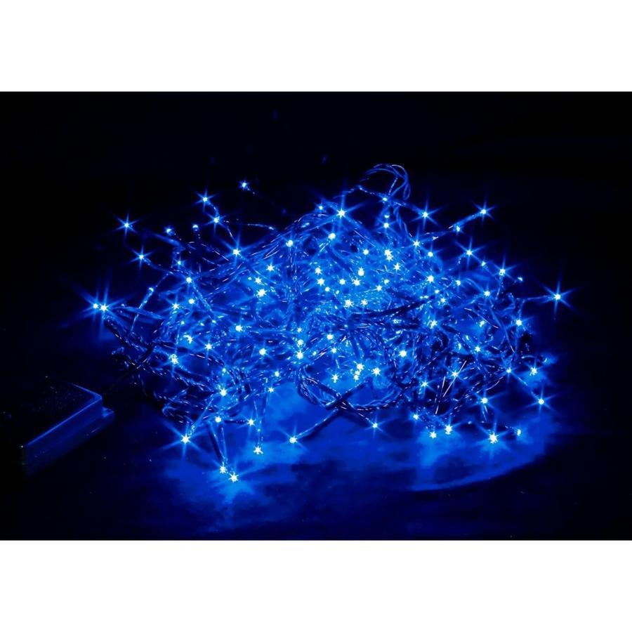 Luci 96Led Blu 3,5 mt con Giochi di Luce